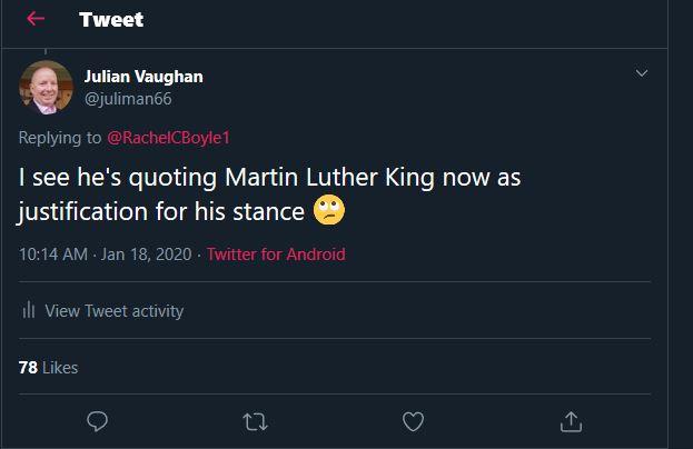 Controversial Tweet